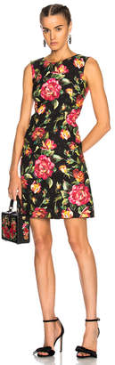 Dolce & Gabbana Floral Sleeveless Mini Dress