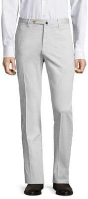 Incotex Slim-Fit Linen-Blend Pants