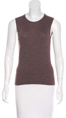 Oscar de la Renta Knit Sleeveless Top