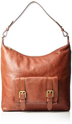 Fossil Cleo, Women's Shoulder Bag, Braun (), 6.35x29.85x33.65 cm (B x H T)