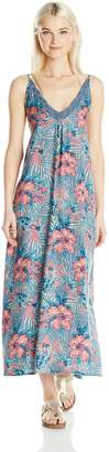 Roxy Junior's Optic Diamond Printed Maxi Dress