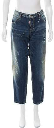 DSQUARED2 Hockney Mid-Rise Jeans w/ Tags