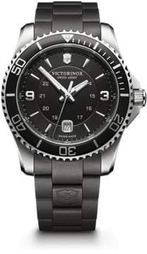 Victorinox 241698 Maverick Rubber Strap Watch