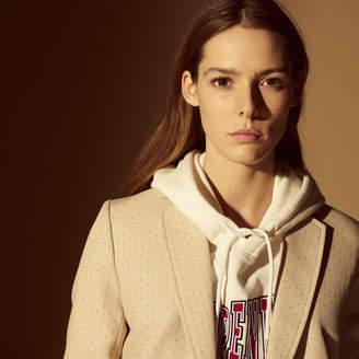 Sandro Printed suit jacket