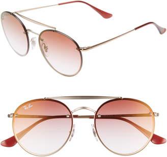 9be7ba03b Ray-Ban 54mm Polarized Gradient Round Sunglasses