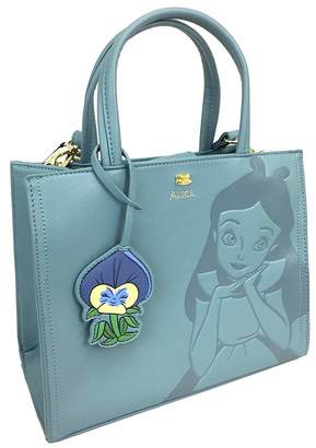 b7fc5c08107 at Amazon Canada · Loungefly x Disney Alice in Wonderland Debossed  Crossbody Bag with Flower Charm