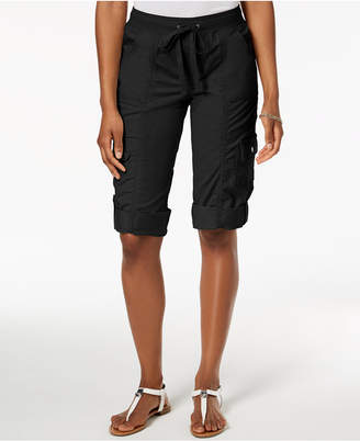 Style&Co. Style & Co Drawstring Cargo Shorts