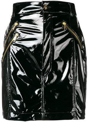 Versace high waisted mini skirt