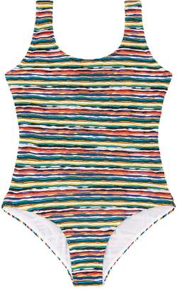Missoni Stripe Triangle Swimsuit