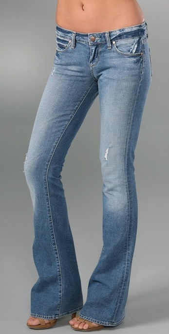 Paige Denim Laurel Canyon Flare Jeans