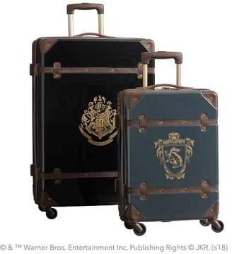 Pottery Barn Teen HARRY POTTER & Hard-Sided HUFFLEPUFF & Luggage Bundle, Set of 2, Charcoal/Black