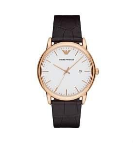 Emporio Armani Luigi Brown Watch