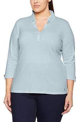 Via Appia Women's Polo 3/4 Arm Foliendruck T-Shirt