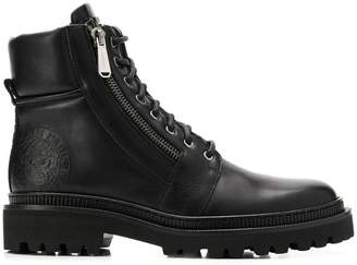 3dd88724c65b Leather Military Boots Man - ShopStyle UK