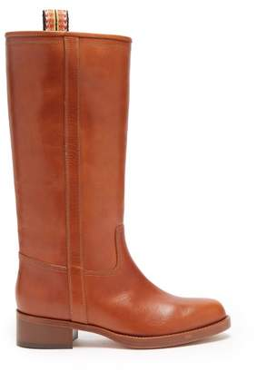 Etro Leather Boots - Womens - Tan