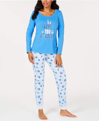 Macy's Family Pajamas Matching Women's Love You A Latke Pajama Set, Created for