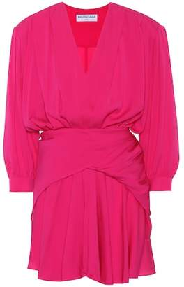 Balenciaga Georgette silk dress