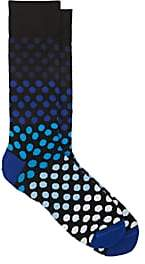 Paul Smith Men's Wopex Cotton-Blend Mid-Calf Socks - Black