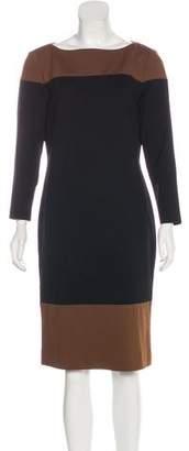 Lauren Ralph Lauren Long Sleeve Knee-Length Dress