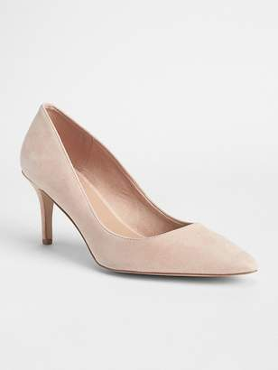 Gap Nude Suede Pumps