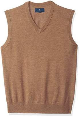 Buttoned Down Men's Italian Merino Wool Lightweight Tank Sweater Vest X-Small