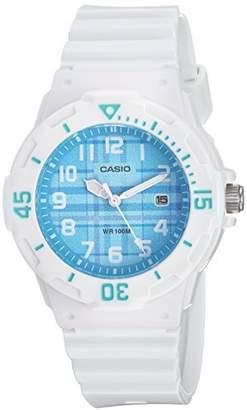 Casio Women's LRW-200H-2CVCF Analog Display Quartz White Watch