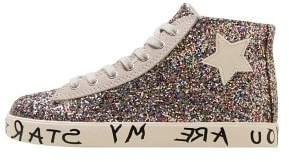 MANGO Message gliter sneakers