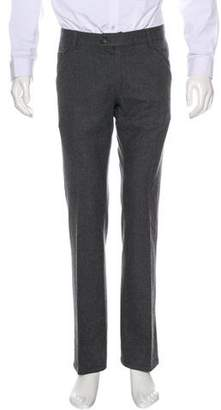 Prada Sport Wool Flat Front Pants