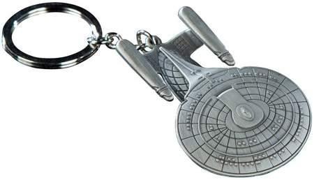 Quantum Mechanix Star Trek USS Enterprise NCC-1701-D Key Chain