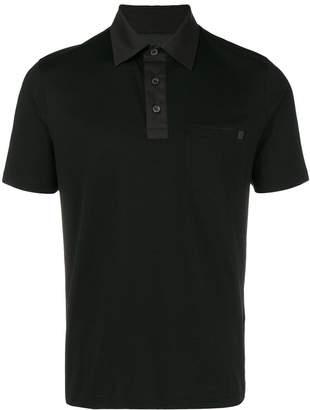 Prada chest pocket polo shirt