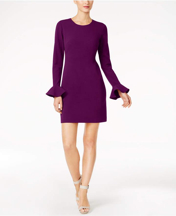 Calvin Klein Cutout-Back Sheath Dress