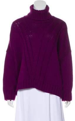 Versace Wool Turtleneck Sweater