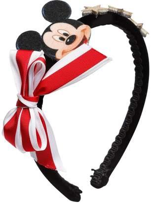 MonnaLisa Mickey Mouse Velvet Headband