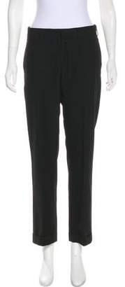 DKNY Mid-Rise Straight-Leg Pants