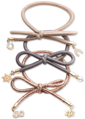 lonna & lilly 3-Pc. Set Charmed Elastic Hair Ties, Created for Macy's