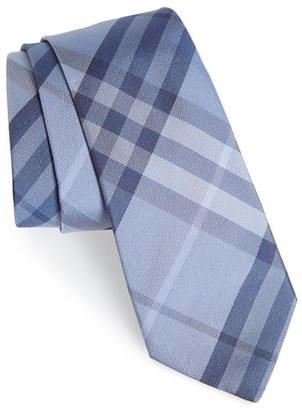 Men's Burberry 'Manston' Check Silk Tie $190 thestylecure.com