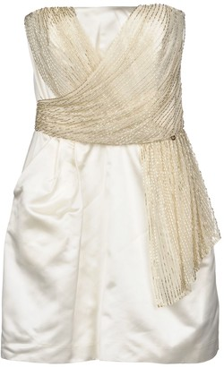 Elisabetta Franchi GOLD Short dresses - Item 34878803UB