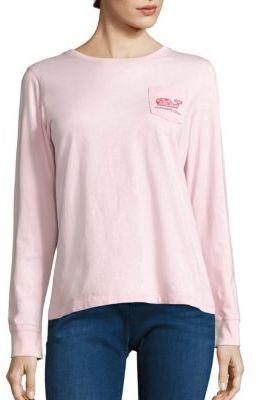 Vineyard Vines Love Whale Cotton T-Shirt $50 thestylecure.com
