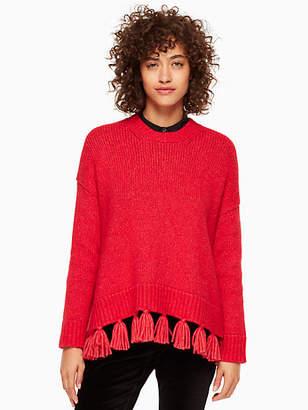 Kate Spade Alpaca tassel sweater