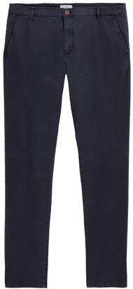 """COLLECTIONS Straight Cotton Chinos, Length 32"""""""