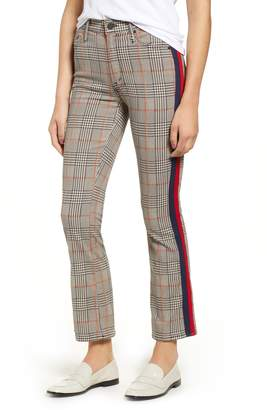 Mother The Insider Plaid Ankle Pants
