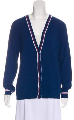 Vanessa Seward Knit Button-Up Cardigan