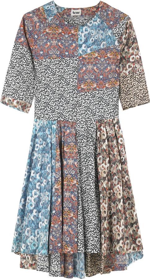 Acne Bangle printed dress