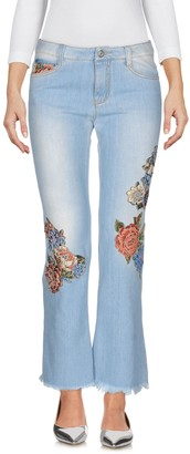 Ermanno Scervino Denim pants - Item 42641389QG