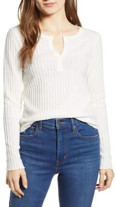 BP Rib Knit Henley (Regular & Plus Size)
