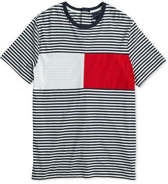 Tommy Hilfiger Adaptive Men's Global Crewneck T-Shirt with Velcro Closure at Back
