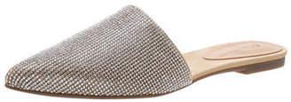 Schutz Mule Pointed Toe Flat Mules
