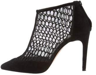 Jean-Michel Cazabat Pointed-Toe Suede Booties