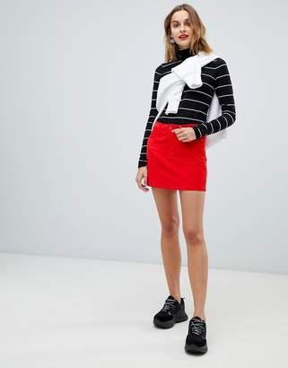Esprit Cord Mini Skirt