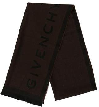 Givenchy Logo Wool Scarf w/ Tags